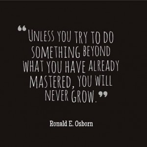 do-something-new-ronald-osborn-quote