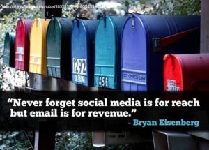 email-is-for-revenue-bryan-eisenberg-quote