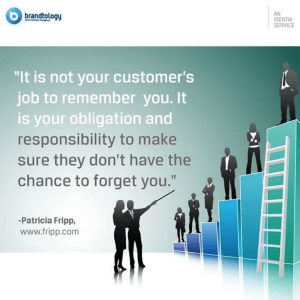 Patricia Fripp Responsibility to your customer