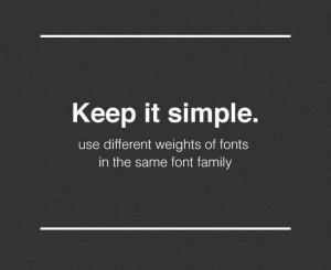 font-weights