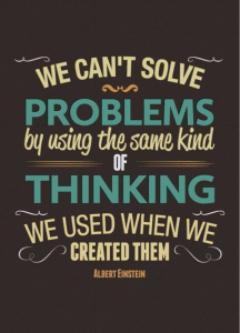 solve-problems-same-thinking