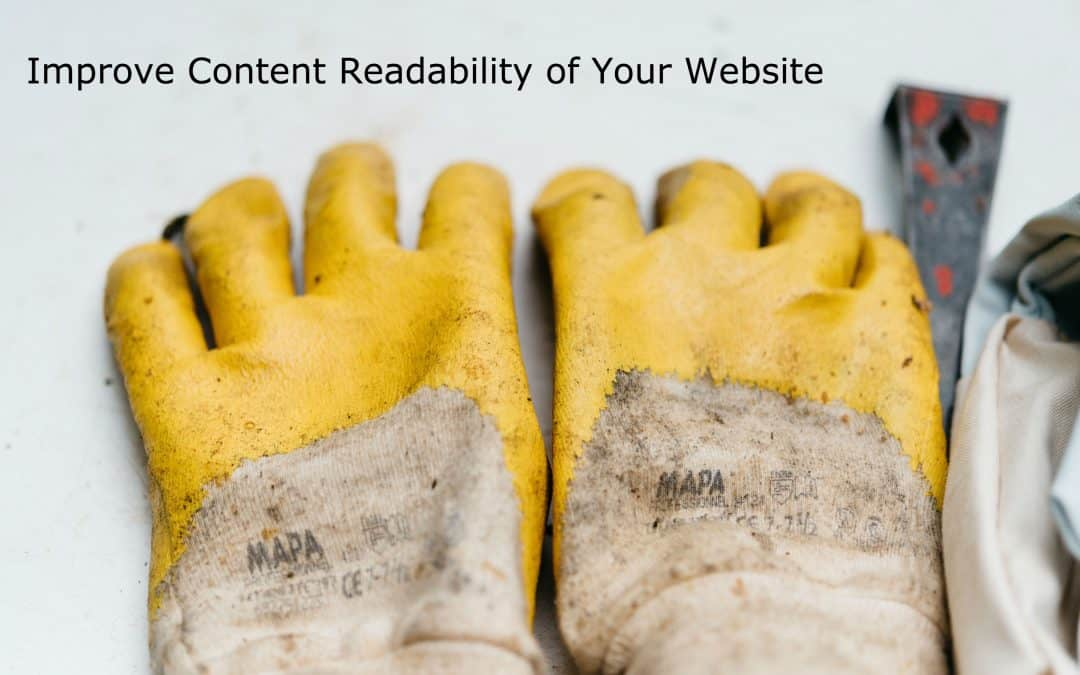 Improve Content Readability of Your Website